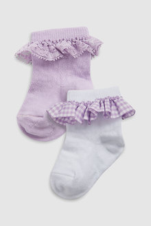 Next Frill Socks Two Pack (Younger)