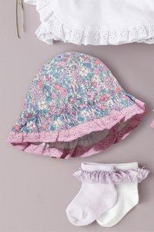 Next Ditsy Hat (0mths-2yrs)