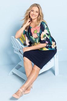 Sara Overlay Dress - 231041