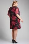 Plus Size - Sara Chiffon Sleeve Dress