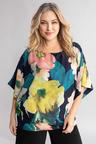 Plus Size - Sara Kimono Sleeve Top
