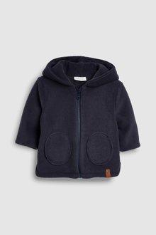 Next Fleece Hooded Jacket (0mths-2yrs)
