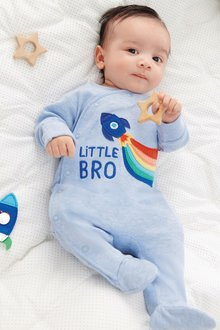 Next Little Bro Rocket Sleepsuit (0-18mths)