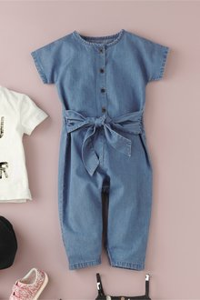 Next Tie Front Playsuit (3mths-7yrs)
