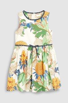 Next Dahlia Floral Cotton Dress (3-16yrs)