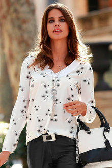 Urban Printed Blouse