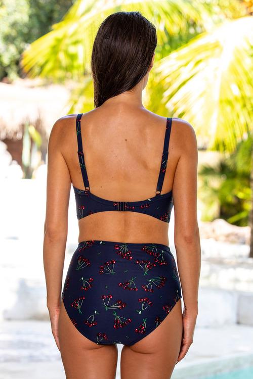 Nip Tuck Retro Bikini Top