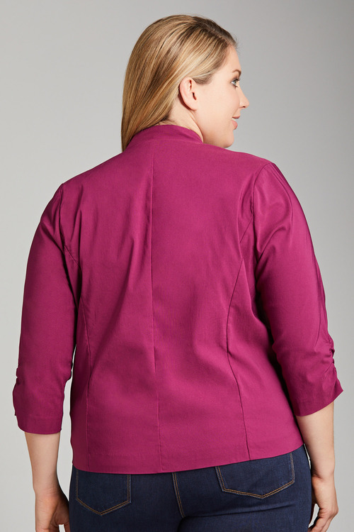 Plus Size - Sara Bengaline Stretch Blazer