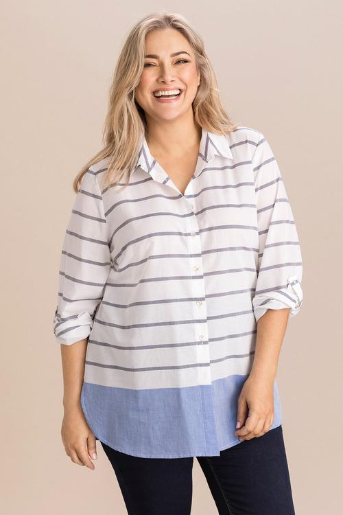 Sara Stripe Shirt
