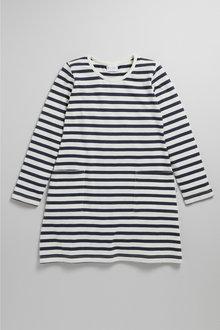 Pumpkin Patch Girls Stripe Pocket Dress Tee - 231201