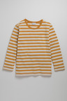 Pumpkin Patch Boys Long Sleeve Stripe Pocket Tee