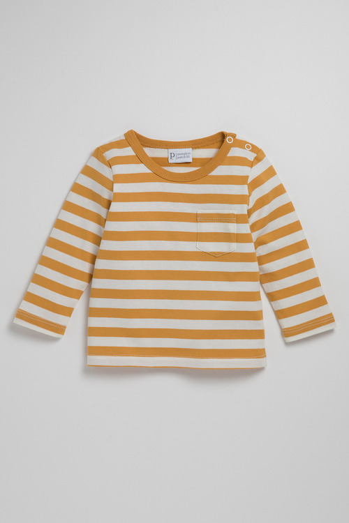 Pumpkin Patch Young Boys Long Sleeve Tee With Pocket
