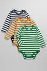 Pumpkin Patch Baby Stripe Body Suit