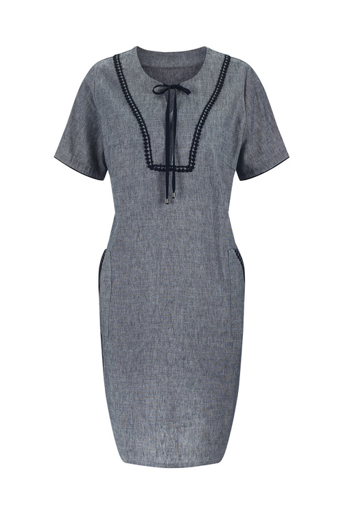 Euro Edit Shift Dress