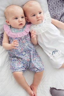 Next Rompers Two Pack (0mths-2yrs)