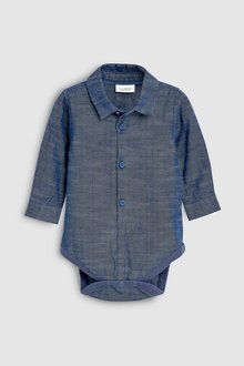 Next Chambray Shirt (0mths-2yrs)