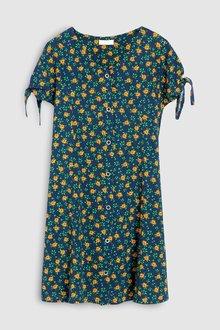 Next Marigold Print Button Through Dress (3-16yrs)
