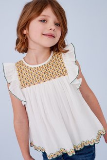 Next Geo Embroidered Blouse (3-16yrs)