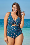 Nip Tuck Curve Multi Fit D/DD Knot One Piece