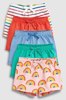 Next Bright Shorts Five Pack (3mths-7yrs)
