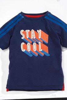 Next Short Sleeve Stay Cool T-Shirt (3mths-7yrs)