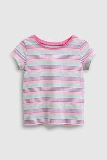 Next Stripe Short Sleeve T-Shirt (3mths-7yrs)