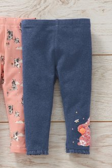 Next Bunny Embroidered Leggings (3mths-7yrs)