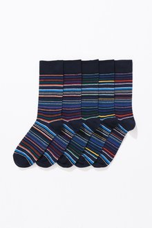 Next Stripe Socks Five Pack