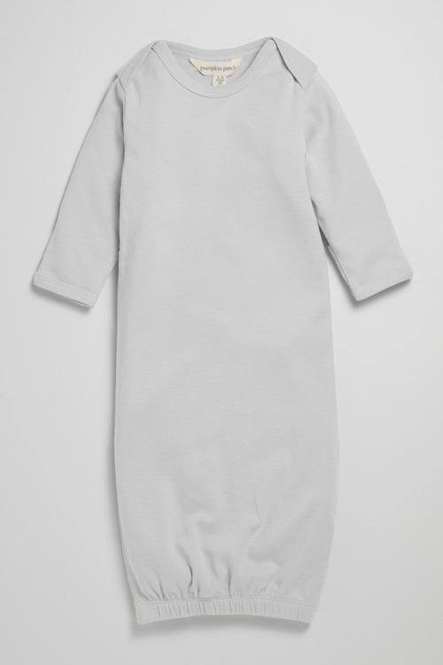 Pumpkin Patch Infants Organic Long Sleeve Gown