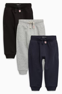 Next Essential Joggers Three Pack (3mths-7yrs) - 231344