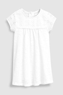 Next Broderie Jersey Dress (3mths-7yrs)