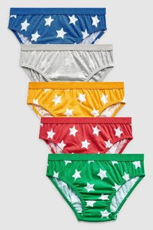 Next Bright Star Briefs Five Pack (1.5-8yrs)