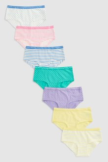 Next Days Of The Week Hipster Briefs Seven Pack (2-16yrs)