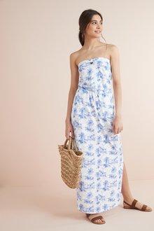 Next Boobtube Maxi Dress- Petite