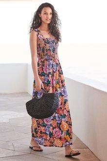 Next Smocked Maxi Dress