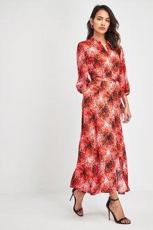 Next Floral Print Shirt Dress