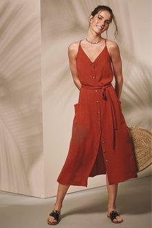 Next Button Pocket Dress