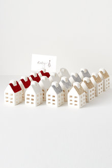 Mini House Placecard Holders Set of Four - 231499