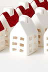 Mini House Placecard Holders Set of Four