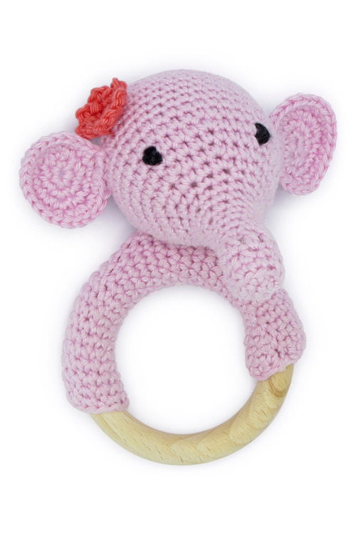 Hardicraft DIY Baby Rattle Crochet Kit