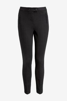Next Ponte Skinny Trousers- Petite