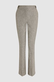 Next Textured Trousers- Petite