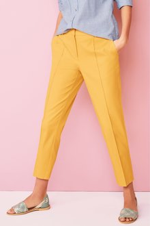 Next Cotton Rich Capri Trousers- Petite