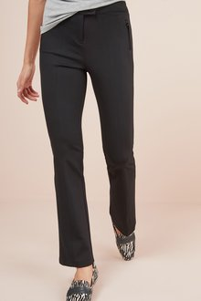 Next Ponte Boot Cut Trousers- Petite