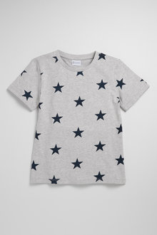 Pumpkin Patch Boys Short Sleeve Star Tee