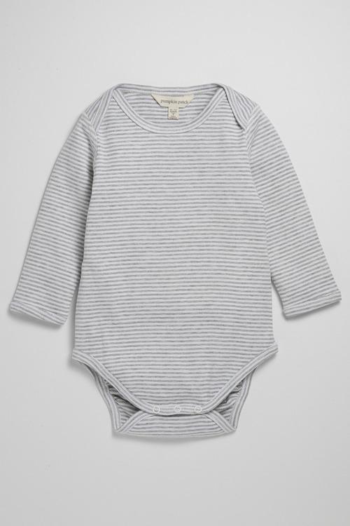 Pumpkin Patch Infants Organic Bodysuit Yarn Dye