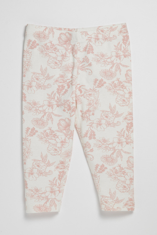 Pumpkin Patch Infants Organic Leggings All Over Print