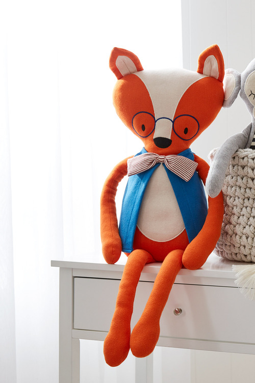 Freddie Fox Knitted Toy