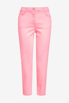 Next Soft Touch Cropped Jeans- Tall