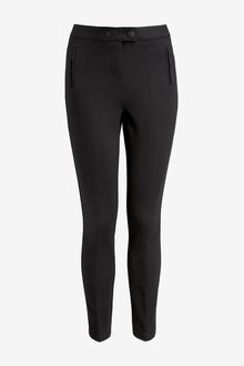 Next Ponte Skinny Trousers- Tall